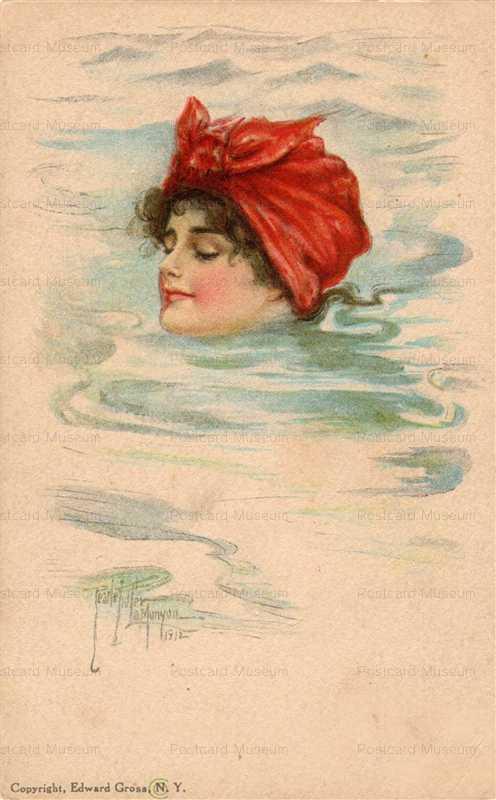 abc003-Woman Swimming