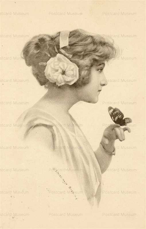 abc009-Schlesinger Elegant Lady and Butterfly