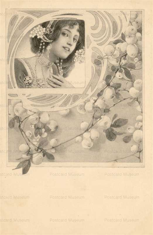 abc023-Art Nouveau Beauty Vienne Series3