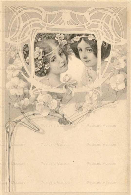 abc025-Art Nouveau Beauty Vienne Series5