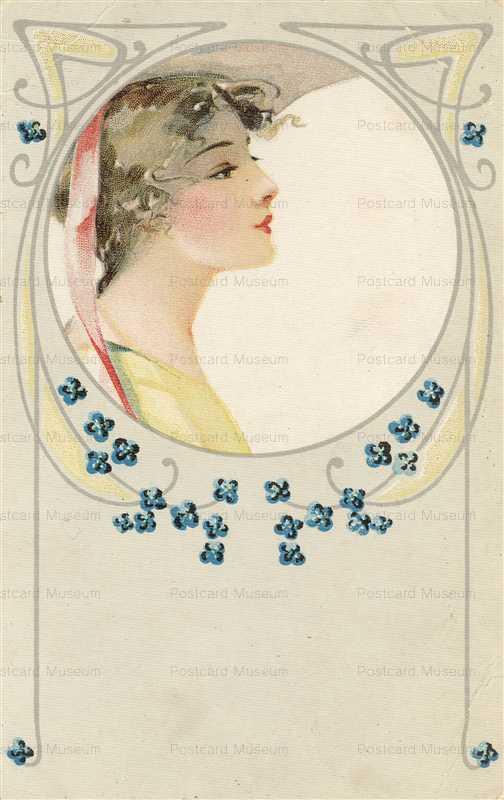 abc028-Art Nouveau Beauty