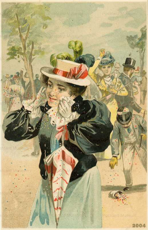 abc150-Lady with Parasol