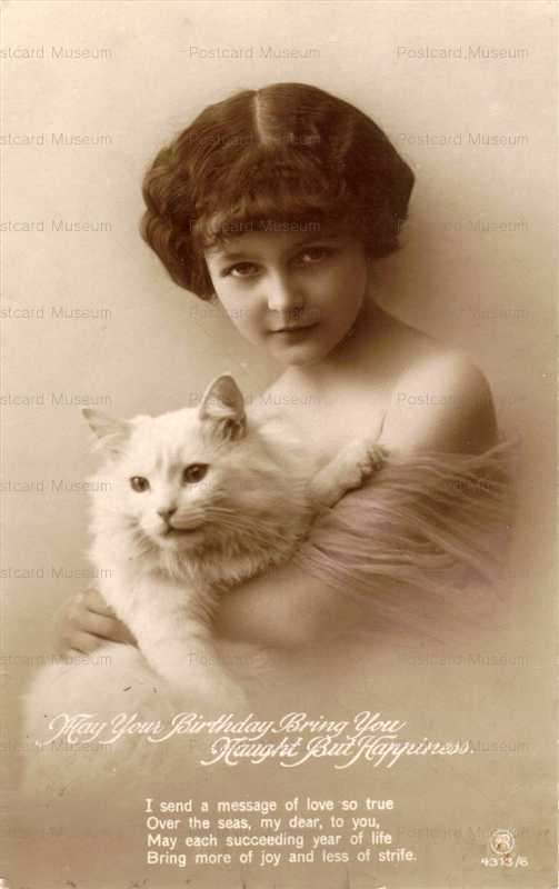 ac004-Girl and Cat