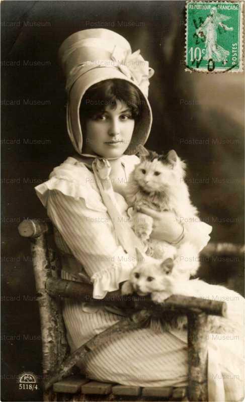 acb002-Girl&Cat