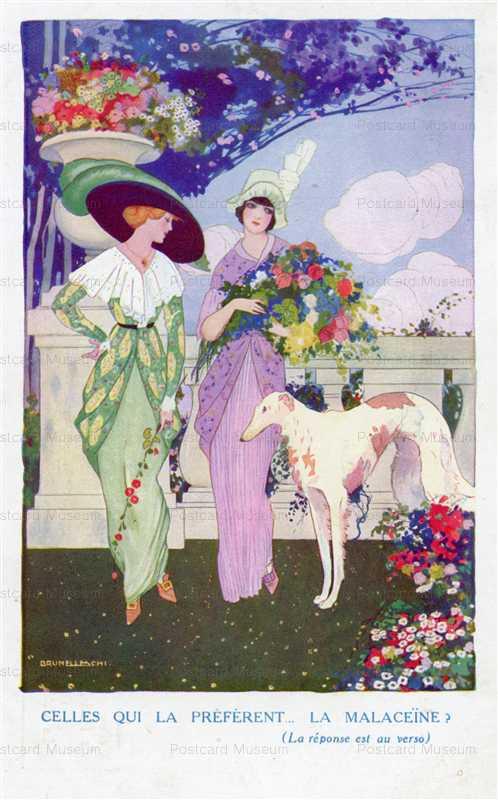 ad230-Umberto Brunelleschi Art Deco Perfume AD STR1109
