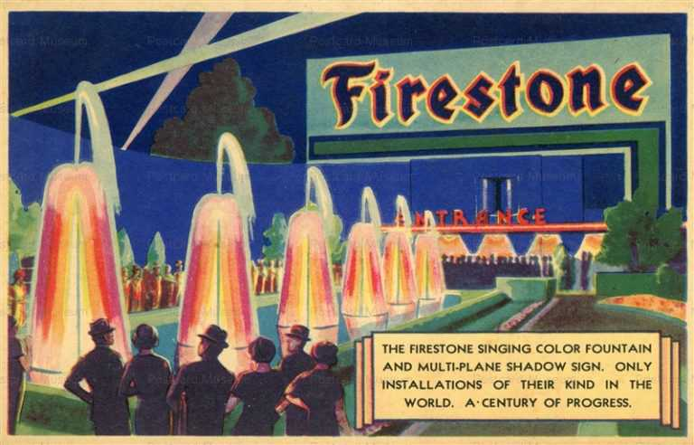 ad800-Firestone Singing Color Fountain