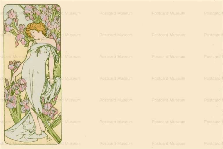am025-Iries 1900 Alphons Mucha