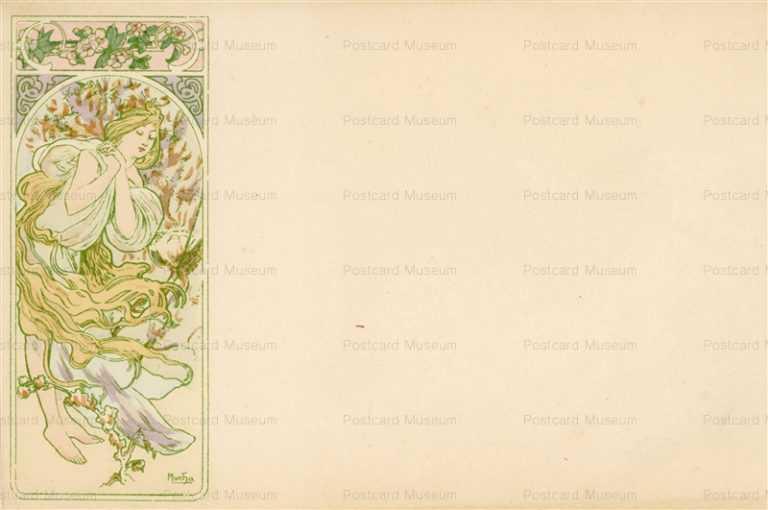 am035-Spring 1900 Alphons Mucha