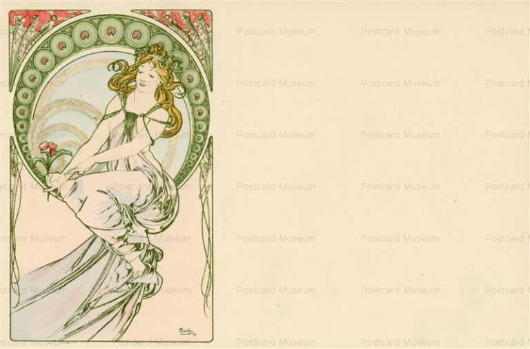am039-Painting 1900 Alphons Mucha