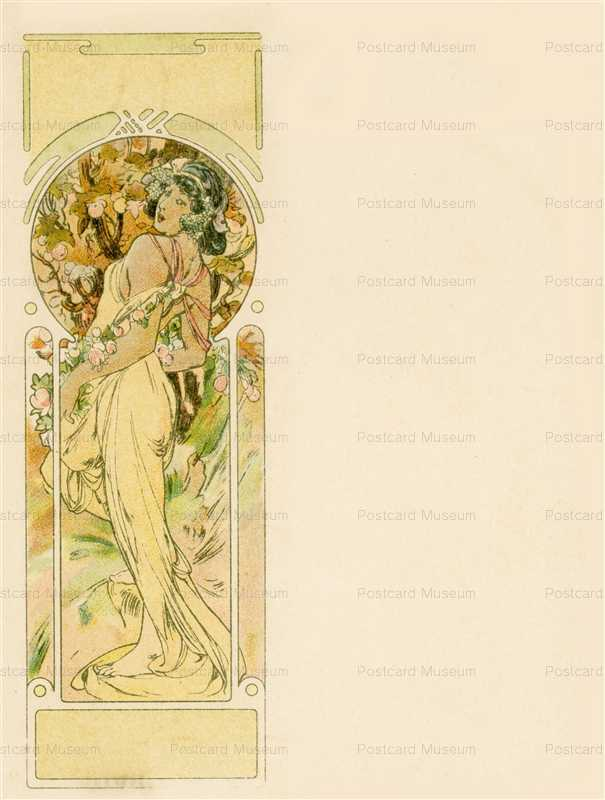 am049-Summer 1900 Alphonse Mucha