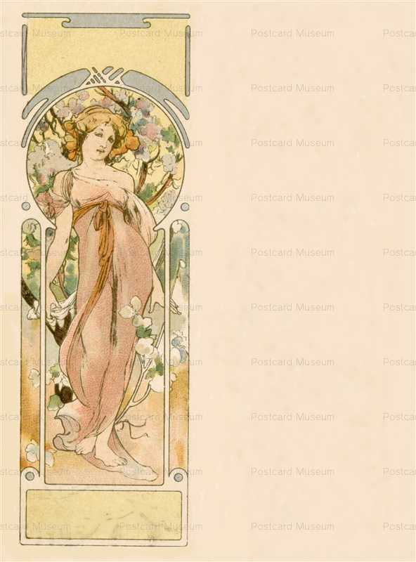 am050-Autumn 1900 Alphonse Mucha