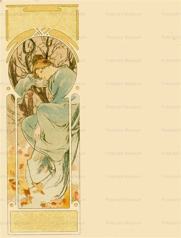 am051-Winter 1900 Alphonse Mucha