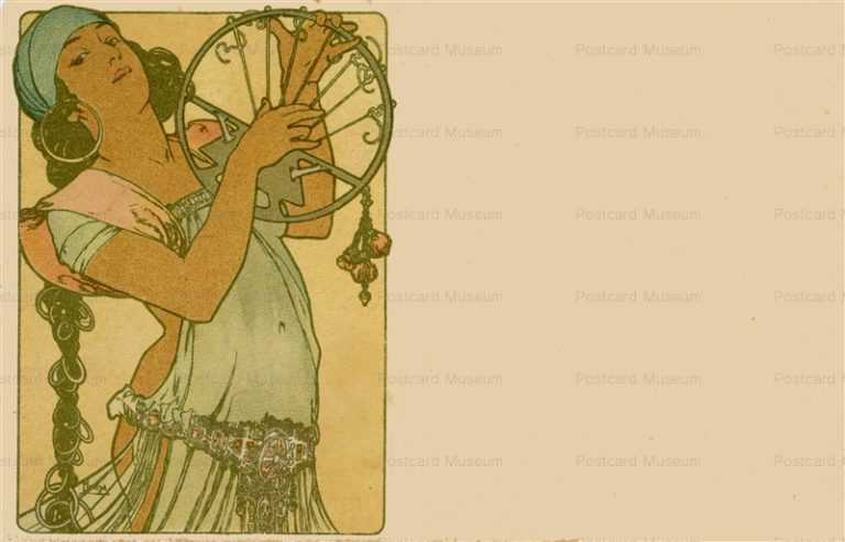am052-Salome 1897 Alphons Mucha
