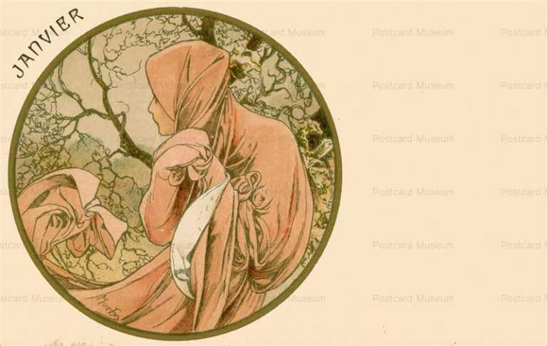 am057-Janvier 1899 Alphons Mucha