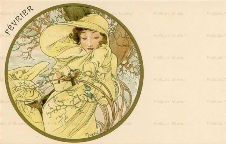 am058-Fevrier 1899 Alphons Mucha