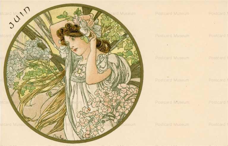 am062-Juin 1899 Alphons Mucha