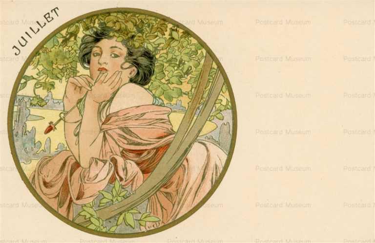 am063-Juillet 1899 Alphons Mucha