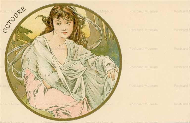 am066-Octobre 1899 Alphons Mucha