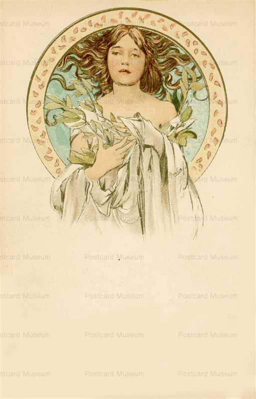 am072-Cocorico Cover Design 1898 Alphons Mucha