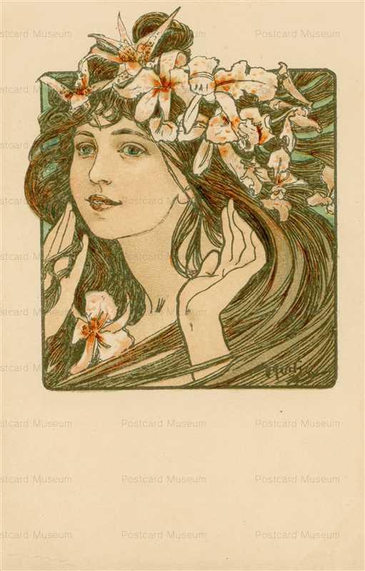 am073-Cocorico Cover Design 1898 Alphons Mucha