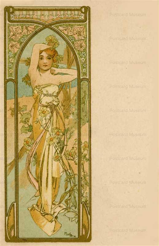 am082-Awakening of Morning 1899 Alphons Mucha