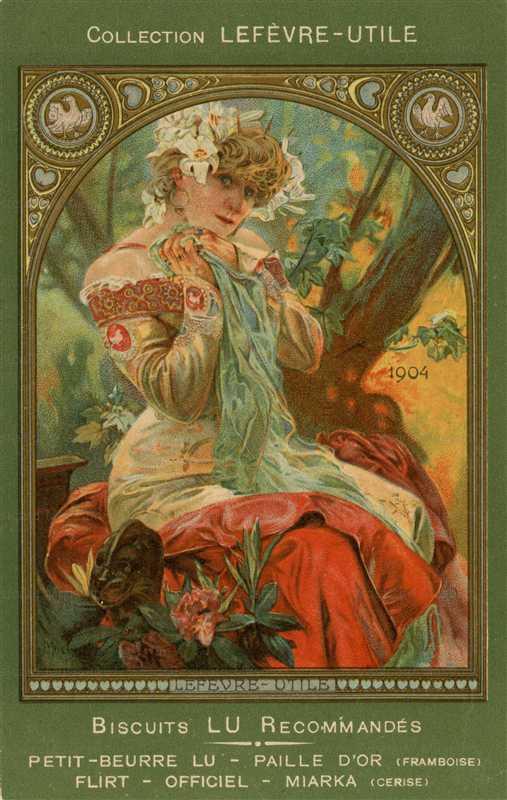 am099-Lefevre Utile 1904 Alphons Mucha