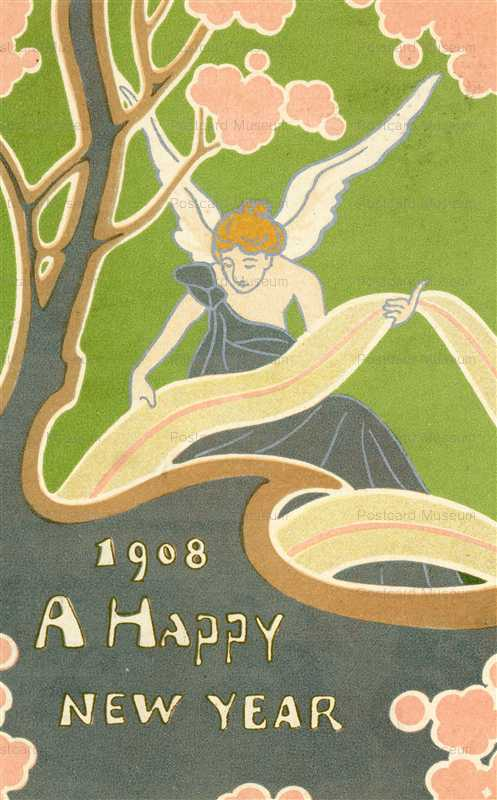an040-エンジェル Happy New Year 1908