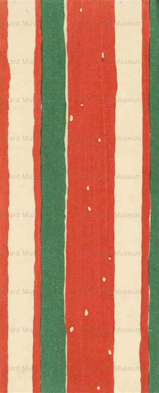 ap240-赤と緑の図案