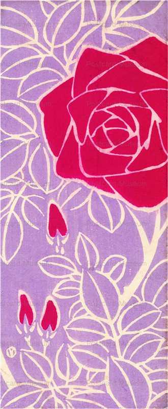 apu003-夢二 赤いバラ