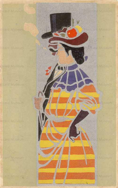 ar011-洋装の紳士淑女
