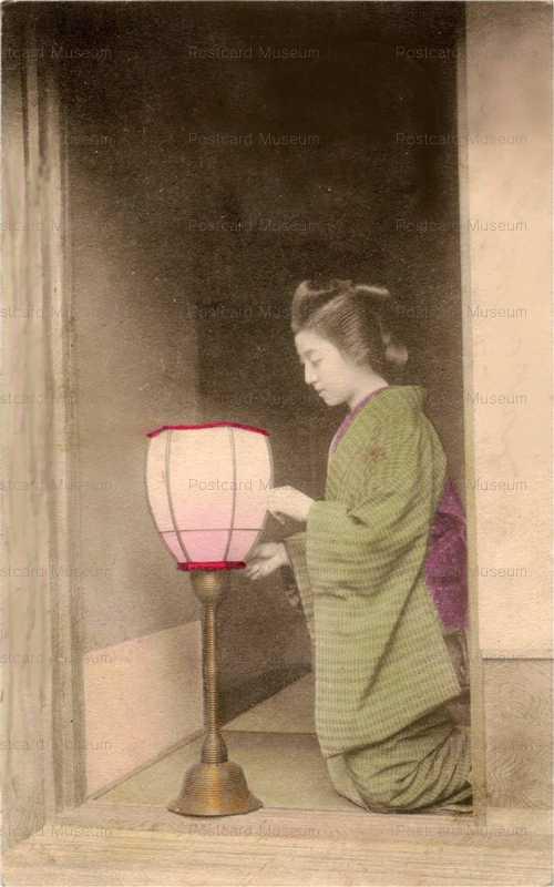 bg007-元禄 行灯