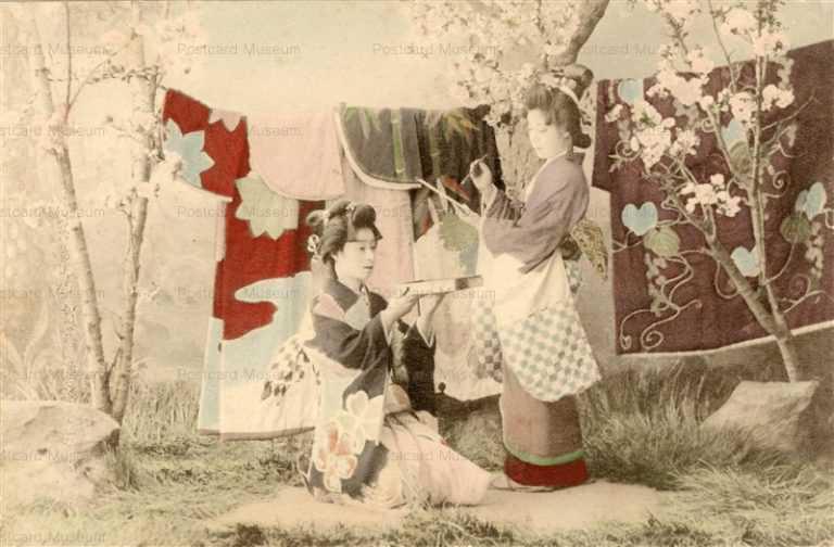 bg111-元禄艶姿二人 和歌