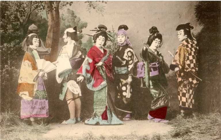 bg210-元禄踊り 男装六人