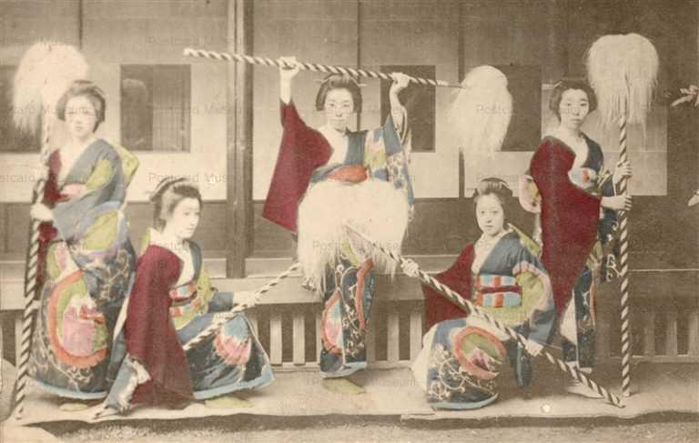 bg260-元禄踊り五人