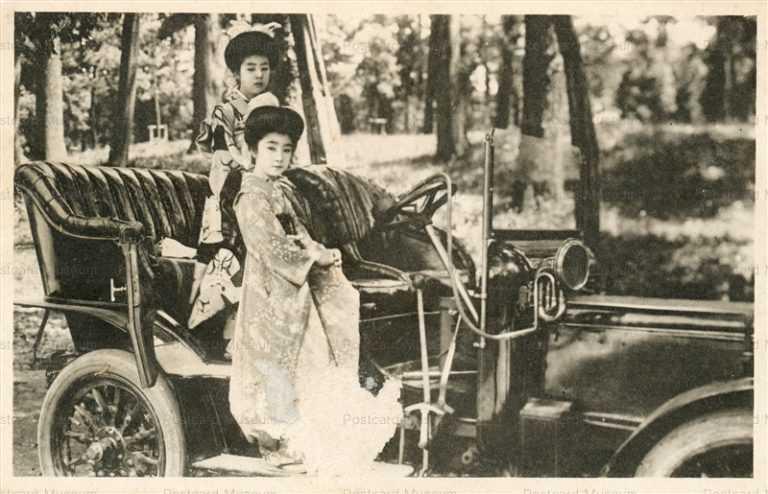 cc020-美人と自動車