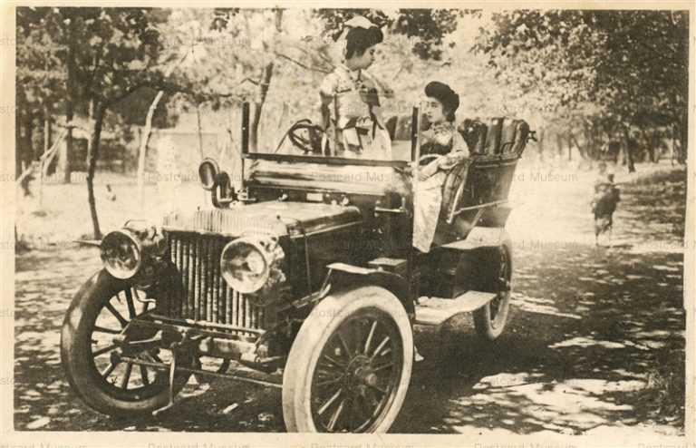 cc030-美人と自動車