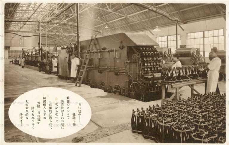 cd614-月桂冠の壜詰工場