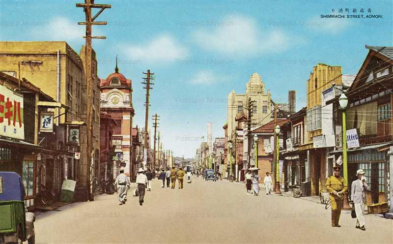 eb075-Shinmachi Street Aomori青森新町通り