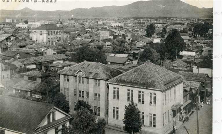 eb240-Aomori City View 青森市街一部を眺望室より展望