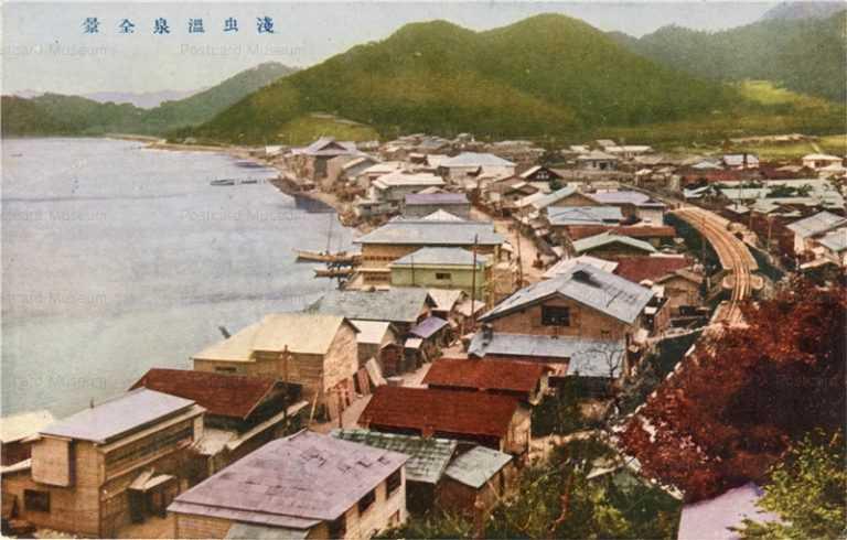 eb291-Asamushi Spa 浅虫温泉全景