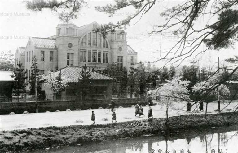 eb413-Hirosaki Public Hall 弘前市公会堂