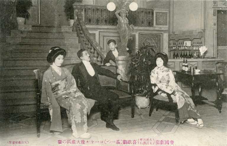 ege100-帝国劇場(大正3年7月) 喜歌劇(瓜一つ)