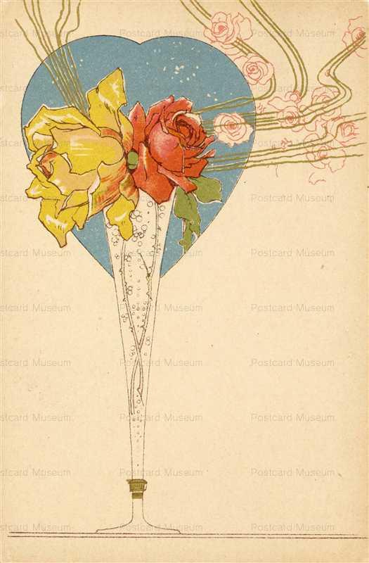 em010-Rose Litho