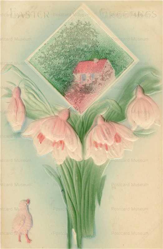 em853-Easter Flower Emboss