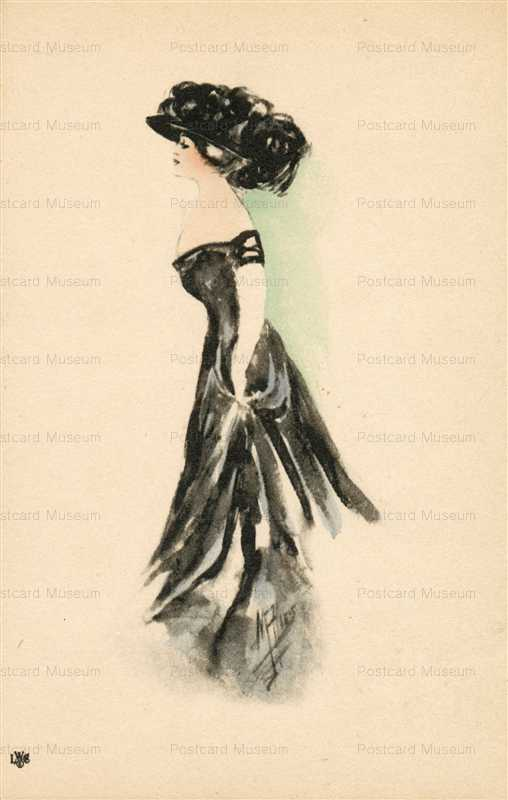 fa430-ASM Ries Pretty Lady in Black