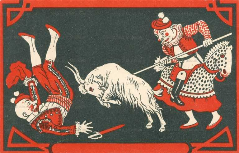 fc013-Circus Clown Goat