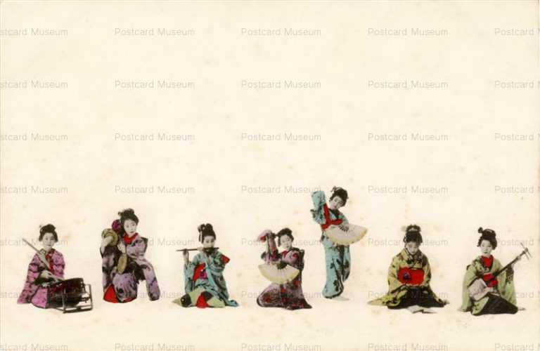 fd010-踊り 笛太 鼓 三味線