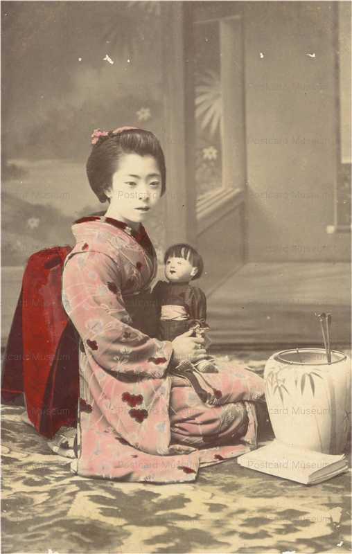 fi027-市松人形