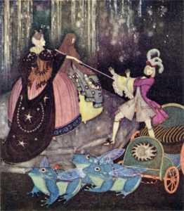 fo132-Edmond Dulac the Blue Bird Fairy Book