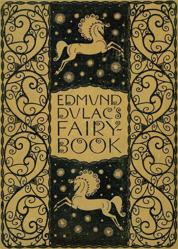 fo150-Edmund Dulac's Fairy Book Cover